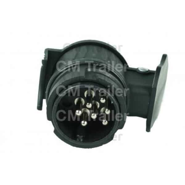 Wobble Light Shock Disk: Cm Trailers Adaptor 13 Pin European Plug To 7 Pin Round